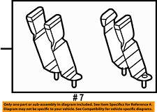 FORD OEM 08-10 F-350 Super Duty Rear Seat Belts-Buckle 8C3Z28611B66BC