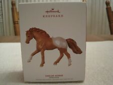 2019 Hallmark Keepsake Ornament Dream Horse Appaloosa-New