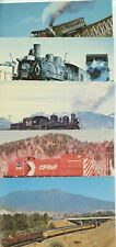 LOT 5 TRAIN POST CARDS
