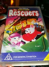 Disney's The Rescuers VHS VIDEO �� �� �� FAST POST