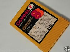 Fairchild Video Game System Cartridge Videocart 8 Magic Numbers Videocart