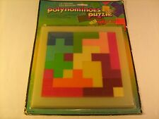 POLYNOMINOES PUZZLE I.Q. Testing Ego Breaking 1981 FAMILY GAME [Y155]