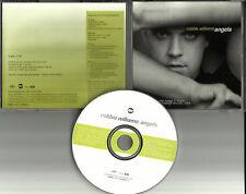 ROBBIE WILLIAMS Angels w/ RARE LIVE VIDEO FOOTAGE PROMO DJ CD Single 1998 MINT