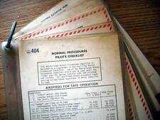 Cessna 404 Titan Ambassador/Courier/Freighter Pilot's Laminated Checklist