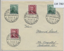 LM78076 Germany 1936 Reich car manufacturers FDC used