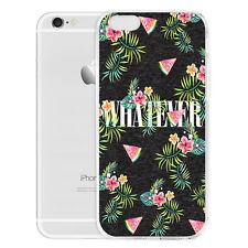 Wassermelone Wortschatz DIY Handy Schutzhülle Tasche für iPhone Samsung Huawei
