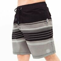Smith & Jones - Men's 'Necar' Multi Stripe Swimming Trunks - 4 Colours