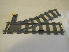 LEGO TRAINS SWITCH LEFT TRACK POINTS (18612 / 53406 / 53407)