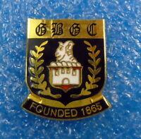 Bowling Club Enamel Badge - B R B C ?