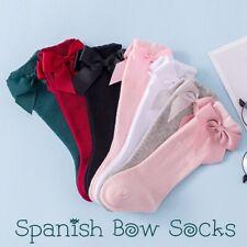 Babys Girls Toddlers Kids Knee High Wedding School Christening Socks 0- 8 years