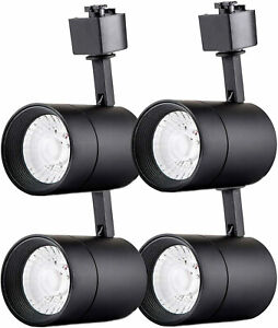 4-Pack Dimmable LED Track Lighting Head for Juno Track 75W Equivalent Warm White