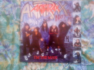 Anthrax I'm The Man Maxi EP extended live version +2