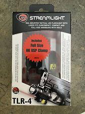Streamlight TLR-4 LED Tactical Gun Mount Flashlight 69242 Laser HK USP Full Size