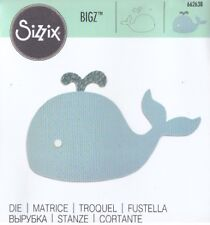 Fustella Per Big Shot Bigz SIZZIX Balena