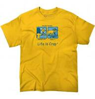 Life is Crap Online Dating Funny Shirt Sarcastic Gift Idea Ladies T Shirt Tee