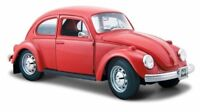 Volkswagen VW Beetle Maggiolino 1973 Red 1:24 Model 31926 MAISTO