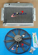 Aluminum Alloy Radiator + Fan for MGB GT/ROADSTER TOP-FILL 1968-1975 1969 1970