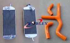 For KTM 400 450 525 SX/MXC/EXC 2003 2004 2005 2006 07 Aluminium Radiator + Hose