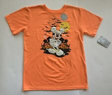 Disney Mickey Mouse Halloween Glow-In-The-Dark Shirt Boys/Girls Kids 10-12 Large