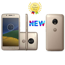 "Motorola Moto G5S Plus GOLD Dual Sim (FACTORY UNLOCKED) 5.5"" 64GB 4GB RAM NEW"