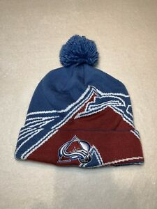 Colorado Avalanche NHL Adidas Pom Beanie - Good quality, Very good condition