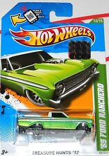 2012 HOT WHEELS FACTORY SET 65 FORD RANCHERO TREASURE HUNT
