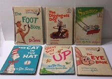 Lot of 6 Dr. Suess Books Summer Great Day for Up The Eye Book 1960s
