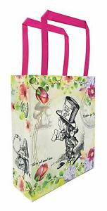 Alice in Wonderland Party Bags Gift Supplies Mad Hatter (Pack of 12) Tea Party