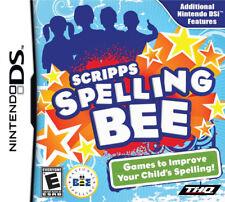 Scripps Spelling Bee NDS New Nintendo DS
