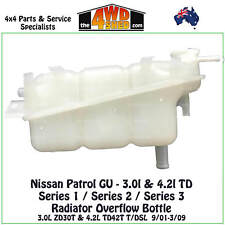 Radiator Overflow Bottle Expansion Tank fit Nissan Patrol GU 3L 4.2L TD 2001-09
