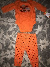 Baby HALLOWEEN outfit costume One Piece & Pants Size 3 Months