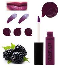 Velvet Kiss Matte Lip Cream BLACKBERRY purple by Collection