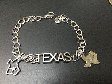 "Texas Charm Tibetan Silver 8"" Bracelet T6"
