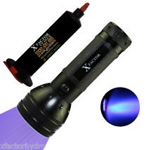XFACTOR UV LOCA Glue Adhesive APS 346 + UV FLASHLIGHT BLACK LIGHT TORCH 51LEDs