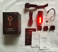 Bicycle Head Tail light LED White RED Light Flash CATEYE NIMA SET/_Au