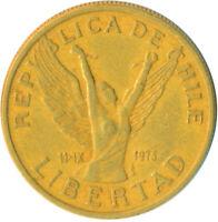 COIN / CHILE / 10 PESOS 1981    #WT5965