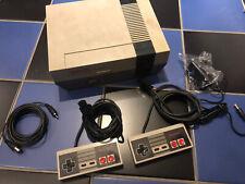 Nintendo NES KONSOLE * Entertainment System Komplettset * Sehr gut
