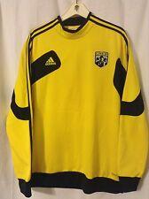 Vintage adidas Columbus Crew LongSleeve Yellow Goalie Goalkeeper Jersey/Shirt XL