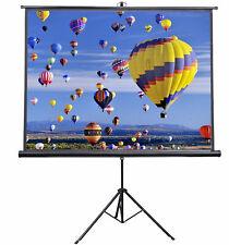"5 Core 72"" INCH TRIPOD Projector SCREENS 16:9 Indoor Outdoor 8K Ultra HD 3D TR72"