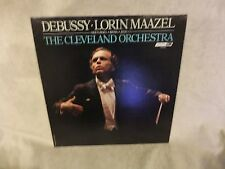 Debussy.Lorin.Maazel, The Cleveland Orchestra CS 7128 UK Vinyl 1979 Record
