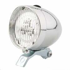 New Bicycle Bike Cycle Front Dynamo Classic LED Retro Style Head Light Tradional