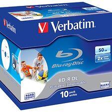 Verbatim BD-R 50 GB, Blu-ray-Rohlinge