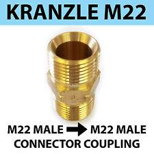 M22 Maschio Filettatura 22 mm Kranzle TIPO A MASCHIO M22 Connettore di accoppiamento a vite