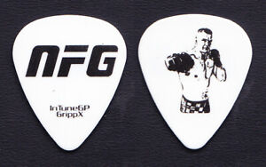 New Found Glory UFC Fighter #1 White Guitar Pick - 2010 Tour