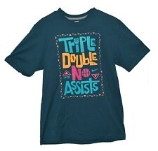 NEW NIKE TRIPLE DOUBLE NO ASSIST  Basketball t-shirt Mens X-Large XL