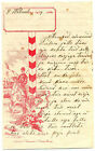 Russian Imp Soldier 's Cossack Letter Paper Bernicker & Synai Vilna 1914 IV/2