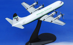 Hobby Master HL1004 1:200 Lockheed L-188 Electra Atlantic Airlines G-LOFB 1994
