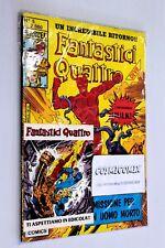 FANTASTICI QUATTRO n. 5 Star Comics Marvel 1989 BLISTERATO CON ADESIVO v3