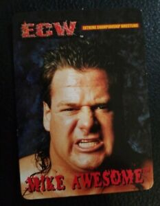 2000 ECW Bash Of The Brawlers Mike Awesome Trading Card WWE WCW FMW Wrestling