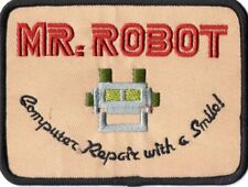 Ecusson porté par Mr robot sur blouson Mr Robot jacket patch as seen in Mr Robot